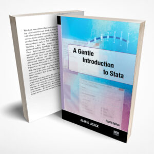 A Gentle Introduction to Stata (4th Edition)