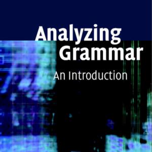 Analyzing Grammar