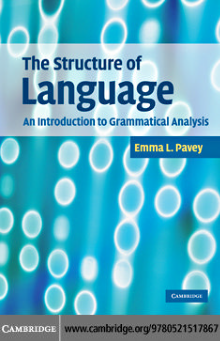 The Structure of Language An Introduction to Grammatical Analysis
