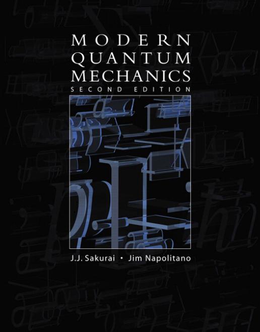 MODERN QUANTUM MECHANICS Second Edition
